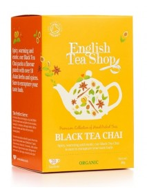 English Tea Shop - Ceai BIO - Black Tea Chai - 40g - plicuri / produs in Sri Lanka