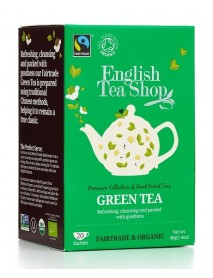 English Tea Shop - Ceai BIO Green Tea - 40g / produs in Sri Lanka