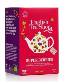 English Tea Shop - Ceai BIO Super Berries - 30g / produs in Sri Lanka