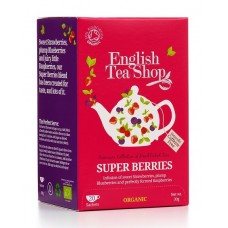 English Tea Shop - Ceai BIO Super Berries - 30g / produs in Sri Lanka