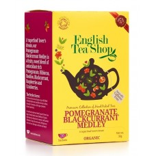 English Tea Shop - Ceai BIO Pomegranate Blackcurrant Medley - 30g / produs in Sri Lanka