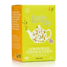 English Tea Shop - Ceai BIO Lemongrass Ginger and Citrus Fruits - 30g / produs in Sri Lanka