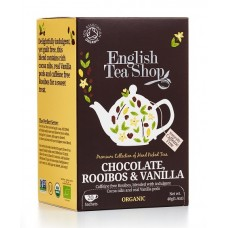 English Tea Shop - Ceai BIO Rooibos Chocolate Vanilla - 40g / produs in Sri Lanka