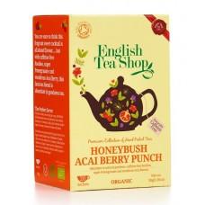 English Tea Shop - Ceai BIO Honeybush Acai Berry Punch - 30g / produs in Sri Lanka
