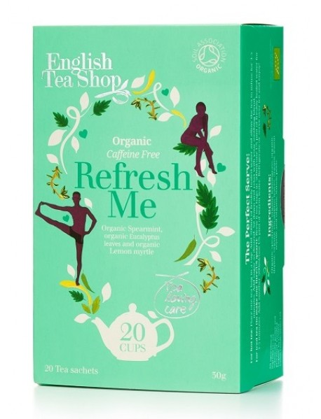 English Tea Shop - Ceai BIO - ayurvedic/wellness - Refresh Me - 30g - plicuri / produs in Sri Lanka