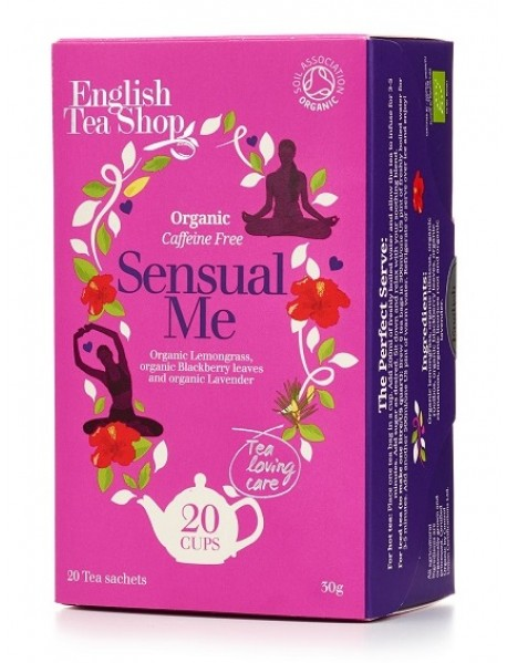 English Tea Shop - Ceai BIO asiatic ayurvedic 100% wellness/spa range - Sensual me - 30g / produs in Sri Lanka