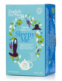 English Tea Shop - Ceai BIO asiatic ayurvedic 100% wellness/spa range - Sleepy me - 30g / produs in Sri Lanka