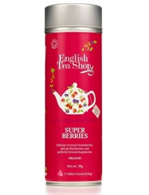 English Tea Shop - Ceai BIO Super Berries Jeff Can - 30g / produs in Sri Lanka