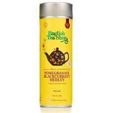 English Tea Shop - Ceai BIO Pomegranate Blackcurrant Medley Jeff Can - 30g / produs in Sri Lanka