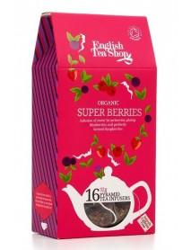 English Tea Shop - Ceai BIO Super Berries Pyramid - 32g / produs in Sri Lanka