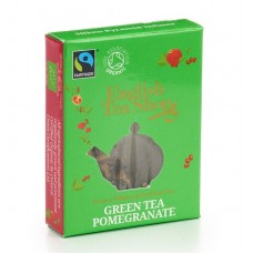 English Tea Shop - Ceai BIO Green tea pomegranate, plic Pyramid - 2g / produs in Sri Lanka