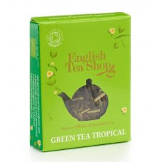 English Tea Shop - Ceai BIO Green tea tropical, plic Pyramid - 2g / produs in Sri Lanka