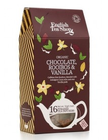 English Tea Shop - Ceai BIO Chocolate Rooibos & Vanilla, Cathedral - 32g / produs in Sri Lanka
