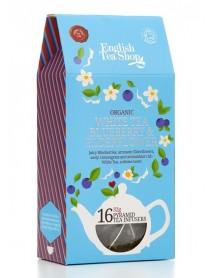 English Tea Shop - Ceai BIO White Tea, Blueberry & Elderflower, Cathedral - 32g / produs in Sri Lanka