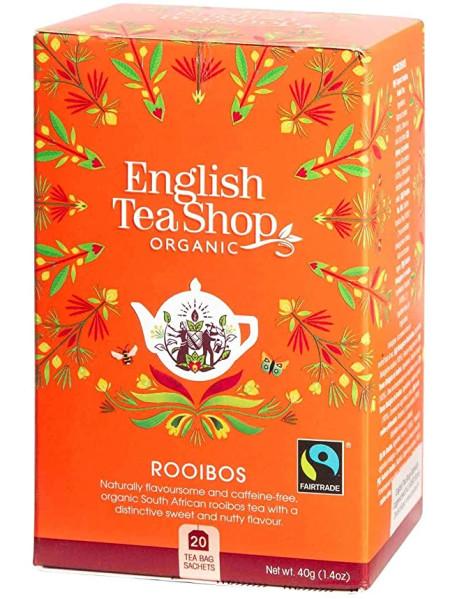 English Tea Shop - Ceai BIO - Rooibos - 40g - plicuri / produs in Sri Lanka