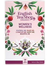 English Tea Shop - Ceai BIO - ayurvedic/wellness - Women's Wellness - mix de 5 sortimente de ceai 30g - plicuri / produs in Sri Lanka