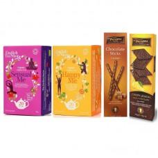Oferta Speciala - ceai BIO English Tea Shop Sensual Me, Happy Me, foite si sticksuri de ciocolata Trianon  / la pret special