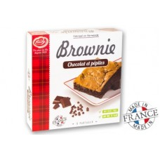 FORCHY - Brownie cu ciocolata si pepite de ciocolata - 285g / produs in Franta