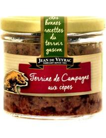 Jean de Veyrac - Terina taraneasca cu ciuperci - 90g / produs in Franta