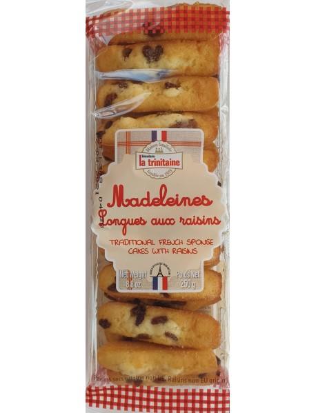 LA TRINITAINE - Madlene lungi cu stafide - 250g / produs in Franta