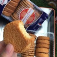 """LA TRINITAINE - Specialitate Bretona: biscuiti subtiri """"galettes"""" si biscuiti grosi """"palets"""" cu unt - 300g / produs in Franta"""