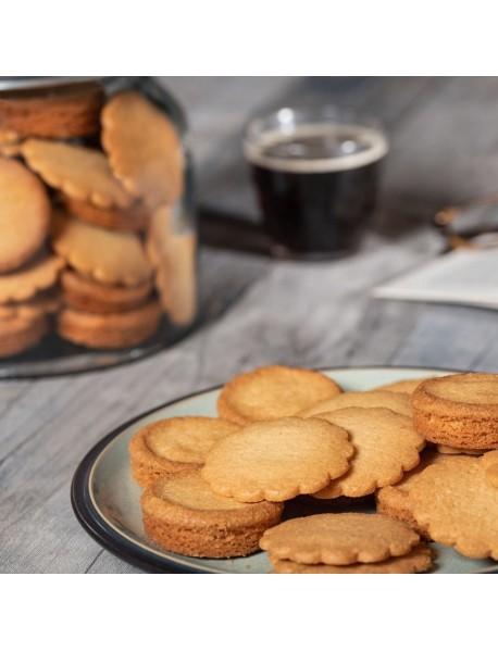 "LA TRINITAINE - Specialitate Bretona: biscuiti subtiri ""galettes"" cu unt - 180g / produs in Franta"