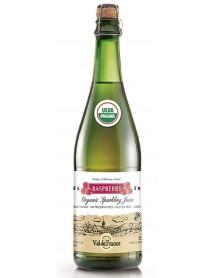 VAL DE FRANCE - Suc de MERE organic (BIO), carbonatat, cu aroma de ZMEURA - 0,75l / produs in Franta