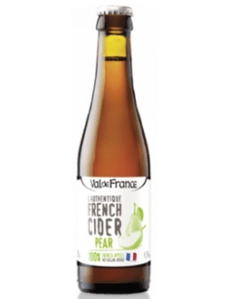 VAL DE FRANCE - L'AUTHENTIQUE FRENCH CIDER - Cidru cu pere 4.5% alc. - 0.33l / produs in Franta