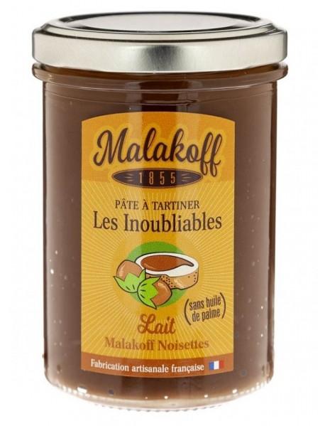 MALAKOFF - Crema tartinabila de ciocolata artizanala cu alune - 240g / produs in Franta