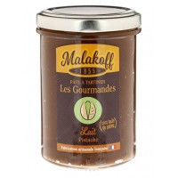 MALAKOFF - Crema tartinabila de ciocolata artizanala cu fistic - 240g / produs in Franta