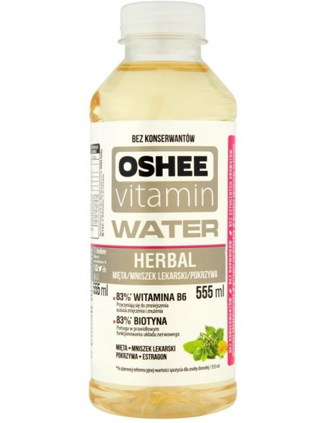 OSHEE - apa cu vitamine si minerale - Herbal - 0.555l