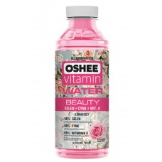 OSHEE Beauty - apa cu vitamine si minerale - cu aroma de trandafiri - 0.555l