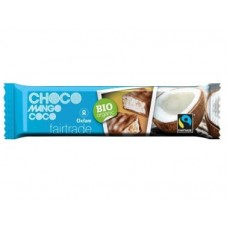 OXFAM - Baton mango si cocos invelit in ciocolata BIO - 33g / produs in Belgia