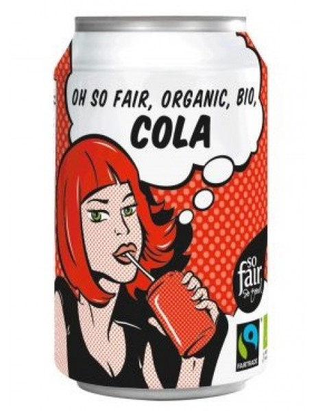 OXFAM - Cola BIO - 0.33l / produs in Belgia