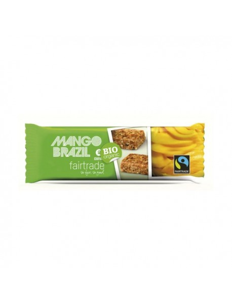 OXFAM - Baton musli cu mango si nuci Brazilia BIO - 40g / produs in Belgia