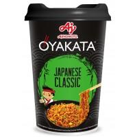OYAKATA - Preparat instant cu taietei si sos - aroma clasica Japoneza. Greutate neta: 93 g - produs de Ajinomoto