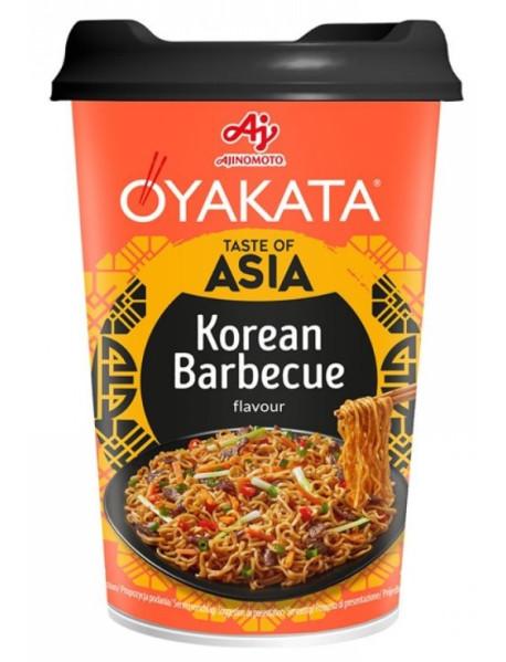 OYAKATA - Preparat instant cu taietei si sos - taste of asia - aroma de barbecue Korean, 93 g - produs de Ajinomoto