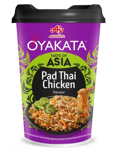 OYAKATA - Preparat instant cu taietei si sos - pui Pad Thai, 93 g - produs de Ajinomoto