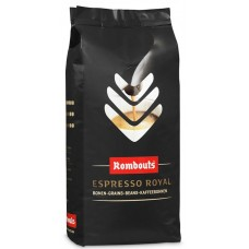 ROMBOUTS (MALONGO) - Cafea boabe - Espresso Royal - 1000g / produs in in Belgia