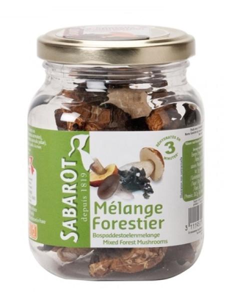 SABAROT - Mix ciuperci de padure - 40g / produs in Franta