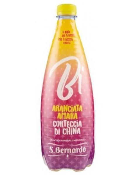 S.Bernardo Bi - Bautura carbonatata - Portocala amara si scoarta de arbore de chinina - 0.75l / produs in Italia