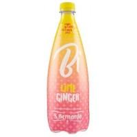 San Bernardo Bi - Bautura carbonatata - Lime si ghimbir - 0.75l / produs in Italia