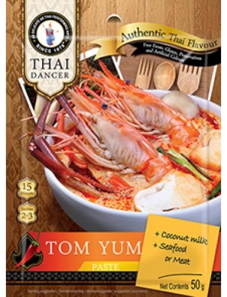 THAI DANCER - Pasta pentru supa TOM YUM - 50g / produs in Thailanda