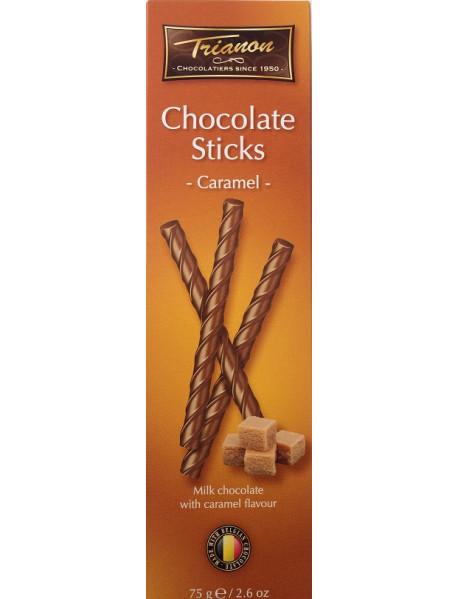 TRIANON - Sticks ciocolata cu caramel - 75g / produs in Olanda