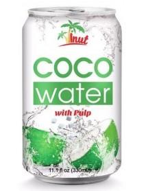 VINUT - Apa de cocos cu pulpa de nuca de cocos - 0.33l / produs in Vietnam