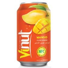 VINUT - Bautura necarbonatata cu suc de mango (NFC) - 0.33l / produs in Vietnam