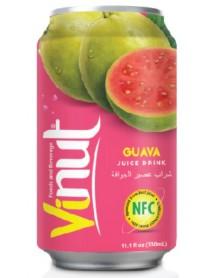 VINUT - Bautura necarbonatata cu suc de guava (NFC) - 0.33l / produs in Vietnam