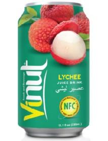 VINUT - Bautura necarbonatata cu suc de lychee (NFC) - 0.33l / produs in Vietnam