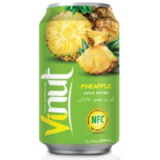 VINUT - Bautura necarbonatata cu suc de ananas (NFC) - 0.33l / produs in Vietnam
