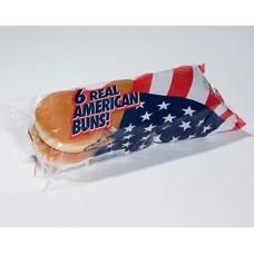 REAL AMERICAN - Chifle hamburger simple (50g x 6) - 300g / produs in Olanda